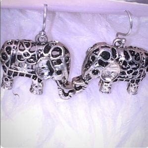 Earrings Elephant Earrings Sweet GIFT Idea!